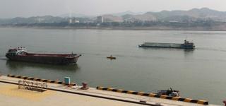 物流运输发达 李家庄码头蓬勃发展(组图)