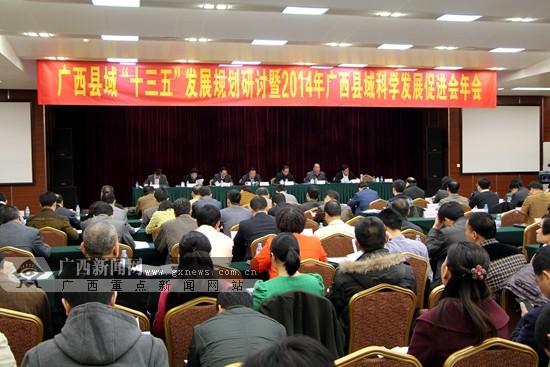 """广西县域""""十三五""""发展规划研讨会在南宁举行(图)"""