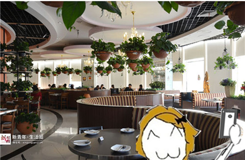 南宁国贸就有最适合自拍的餐厅!力荐!