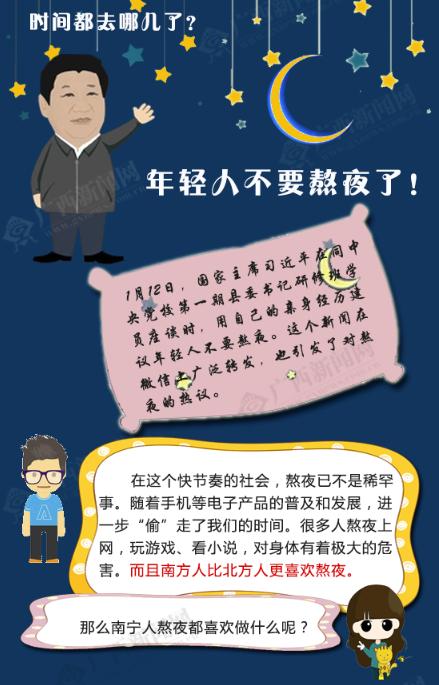 [桂刊]广西的姑娘小伙们别再熬夜了!