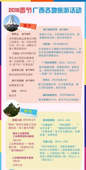 [桂刊]2015春节广西各地旅游活动