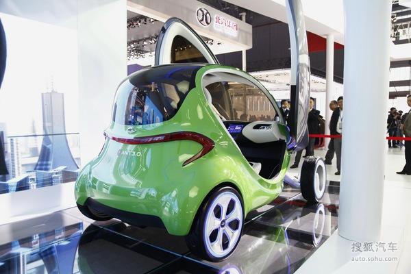 """上海车展:""""帅卖怪呆""""另类设计车型汇总!"""