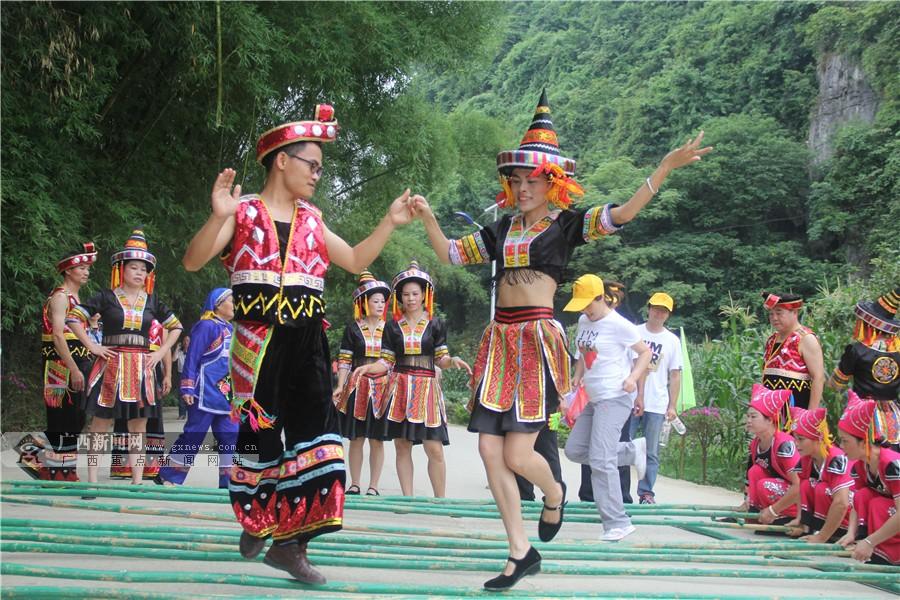 高清:2015上林生态旅游养生节开幕