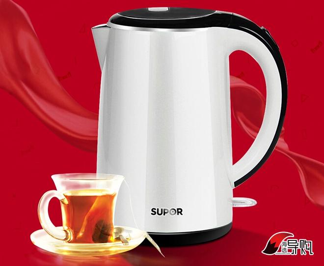 苏泊尔电热水壶 SWF17C05A-180