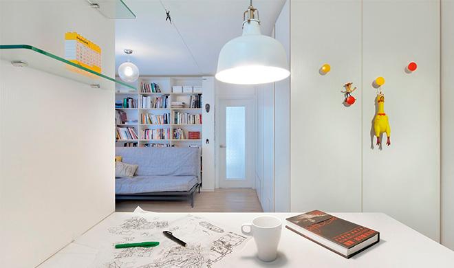 小户型改造,厨房改造,客厅改造案例