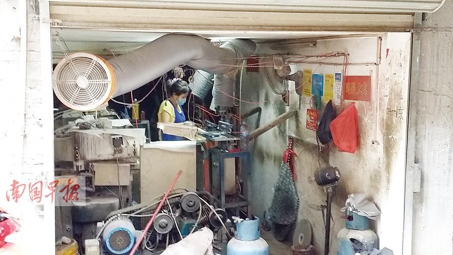 梧州数千个宝石加工点藏身居民区 噪音扰民须搬迁