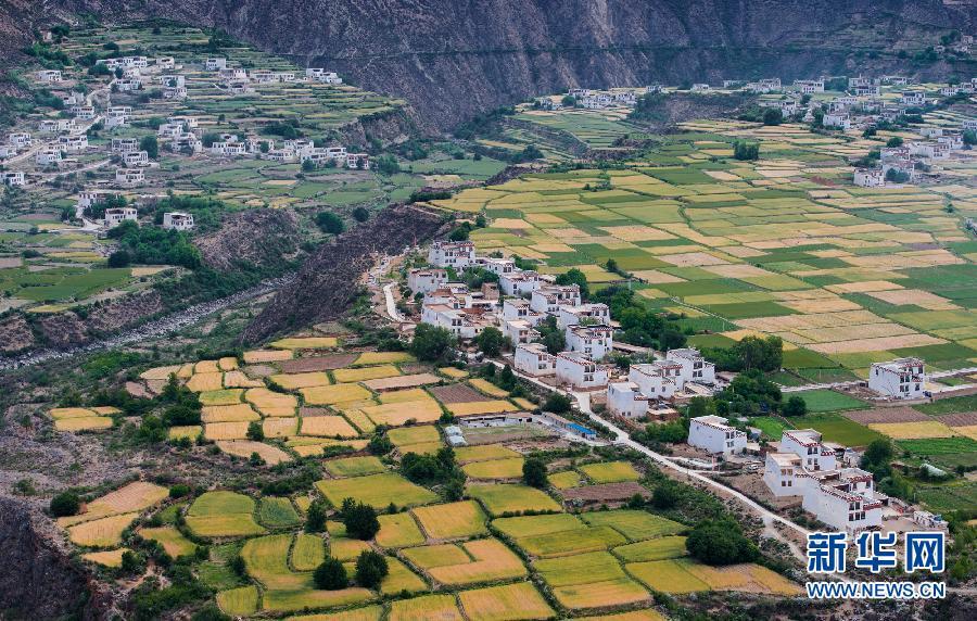当地加强基础设施建设,农,旅,文融合发展,打造藏乡田园旅游目的地