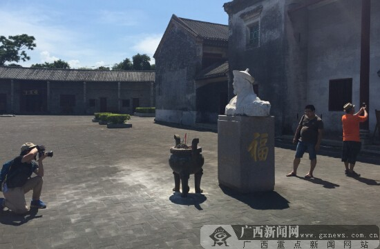 观钦州刘永福故居 感慕民族英雄爱国豪情(组图)