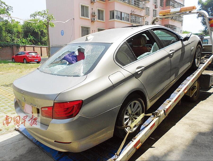 7月9日焦点图:奥迪车,宝马车被砸(2/20)