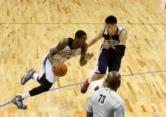 夏季联赛让CBA看到差距 中国球员难获NBA合