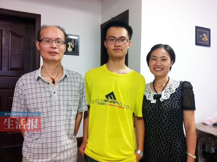 父亲患癌 阳光少年边照顾父亲边学习考上清华(图)