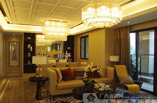 90平米能装修成四房两厅 千千树样板房设计 吸睛高清图片