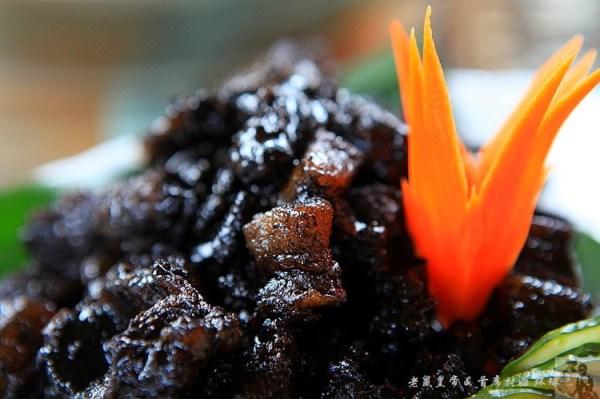 黑色背景美食素材图片