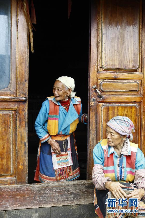 探访中缅边境的傈僳族村寨图片