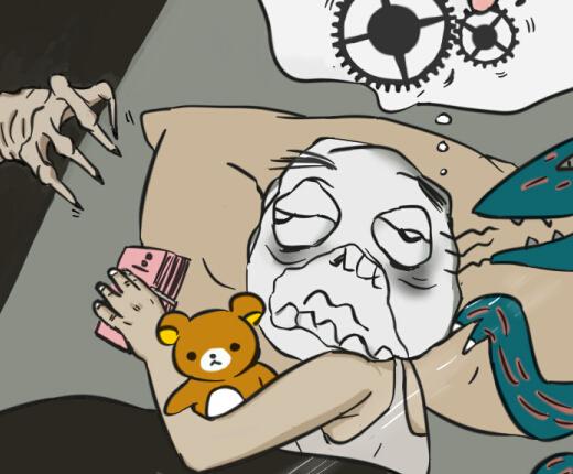 [新桂漫画]赚了6个亿 却失眠了