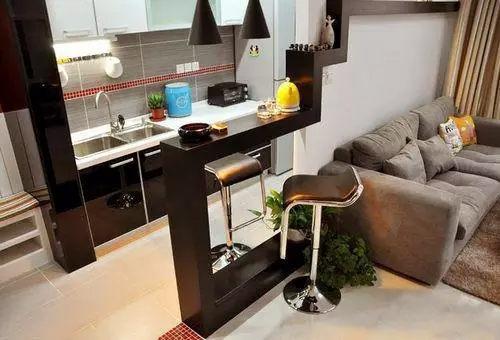 >>>更多装修效果图卧室客厅厨房玄关卫生间-74平现代简约风格两居装
