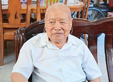 抗战老兵许振昌:多次立功的侦察兵