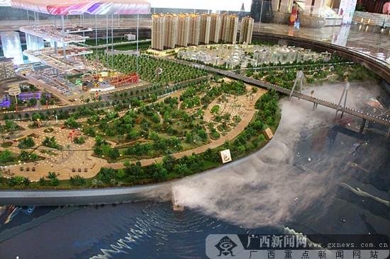 南宁邕宁区龙岗商务区将建成宜居宜商新城