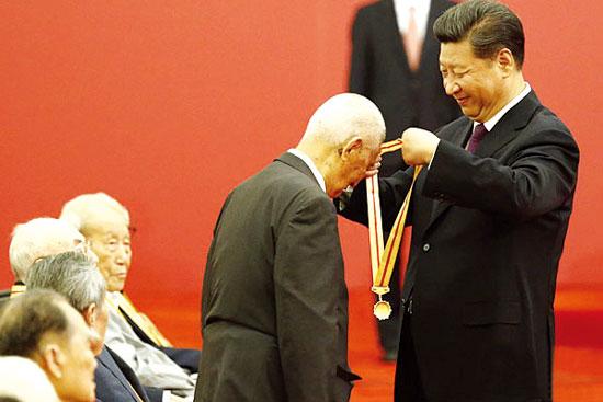 广西抗战经历70年难忘 庄炎林:对广西特别有感情