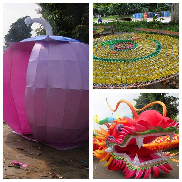 组图:柳州国际水上狂欢节灯会将于9月16日亮相