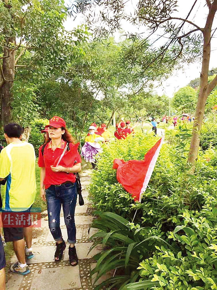 200市民徒步25公里为特殊儿童送上开学大礼