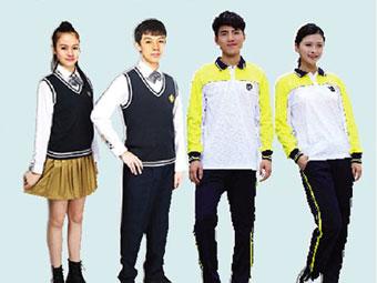 高清图:南宁新款学生装选哪一款好?请市民来投票