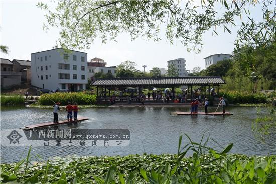 邕宁壮族八音文化旅游节  吃美食看美景乐游乡村