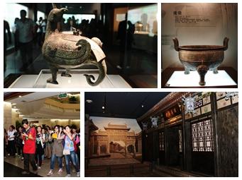 高清:全国网媒记者走进山西博物院感受三晋文化