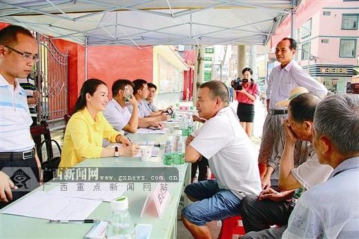 宾阳县纪委监察局为百姓排忧解难最后一公里