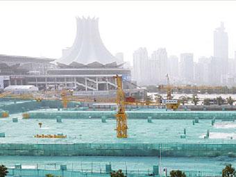 """南宁国际会展中心升级改造 """"朱槿花""""将添""""前后翼"""""""
