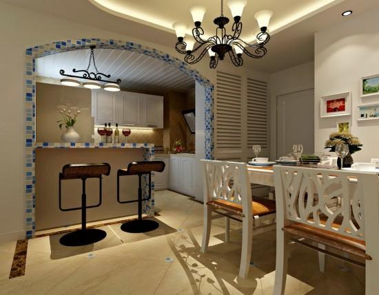 弘善家园-二居室-60.00平米-装修设计