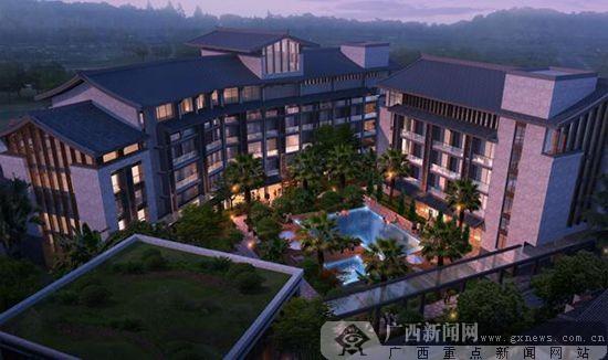田州古城大酒店正式开工建设