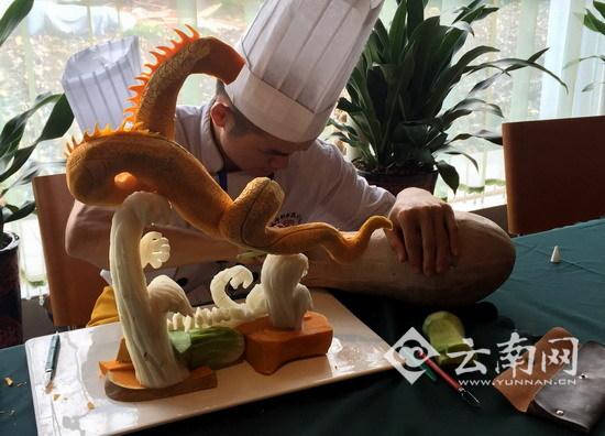 全国网媒看广西教育:桂港台五职校学子南宁拼厨艺