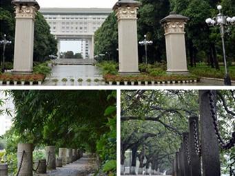 【行摄校园】广西大学:天光云影共徘徊