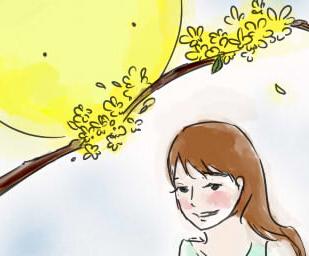 [新桂漫画]月亮度过的中秋节