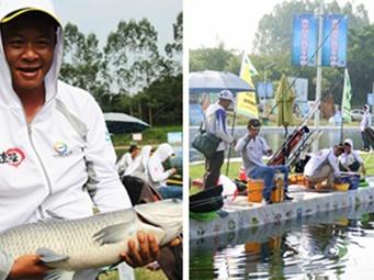 高清:全国钓鱼锦标赛(南宁站)举行 64支队伍参赛