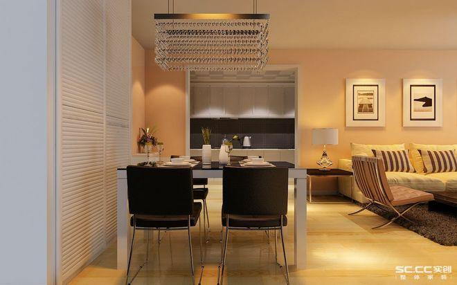 现代二居厨房装修效果图大全2015图片