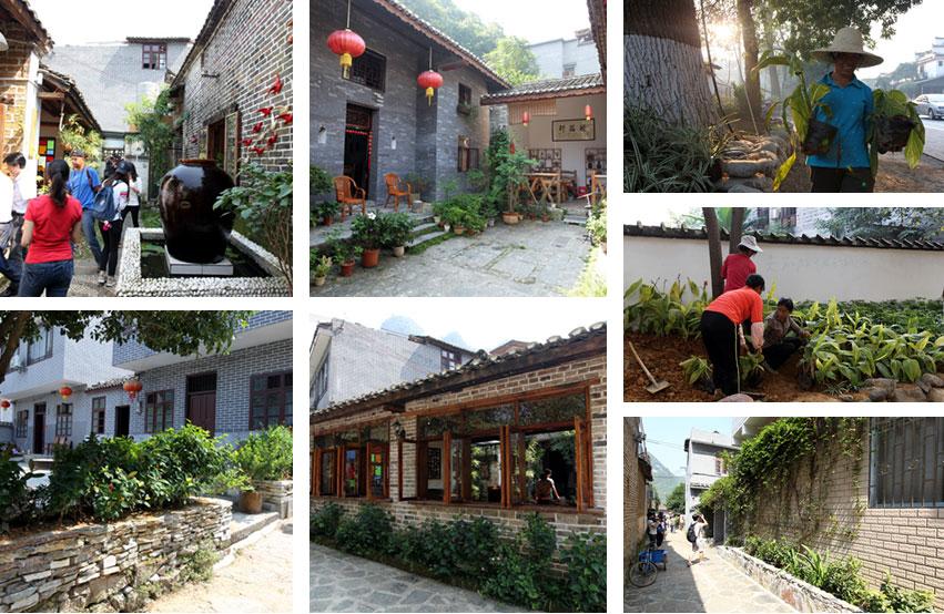 生态乡村建设吸引市场助推 桂北古村展露魅力