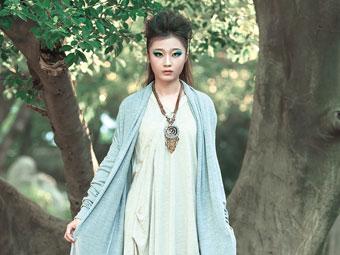 高清:棉麻成柳州潮流新宠 女孩穿出琅玡榜的味儿