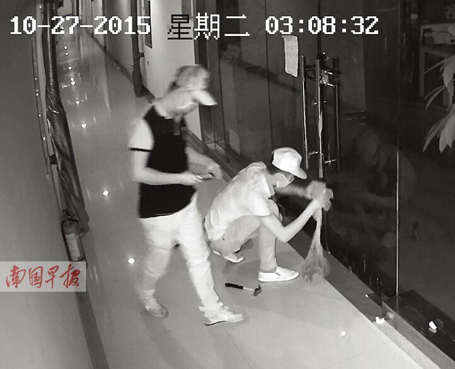 南宁一公司遭投蛇恐吓 10多条蛇吓坏员工(图)