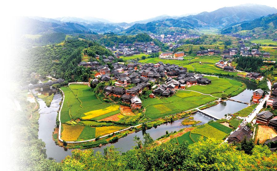 """美丽乡村建设的""""柳州模式"""""""