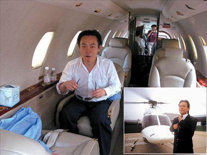 组图:明星富豪们的私人飞机大比拼