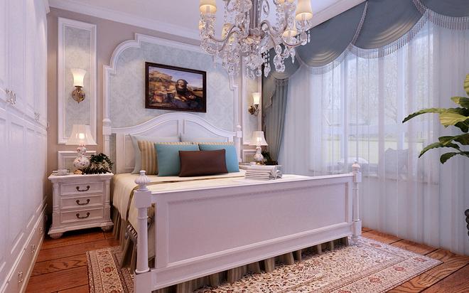 欧式古典三居卧室装修效果图欣赏