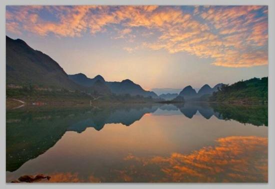 三岛湾景区.图片来源:都安县旅游局