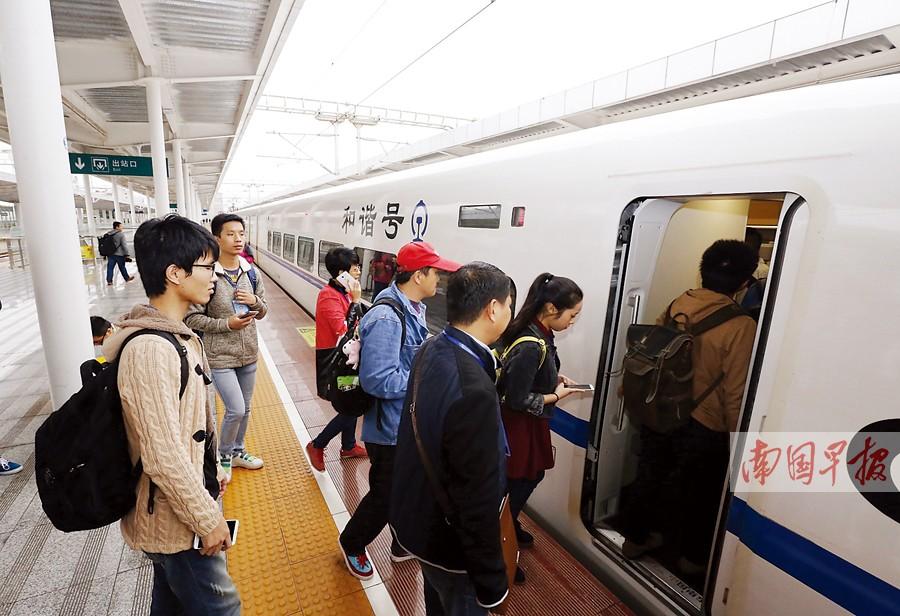 南昆客专南百段开通 南宁-百色动车二等票82.5元