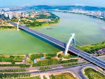 高清:邕城桥美天上人间 丰富城市内涵诗意着生活