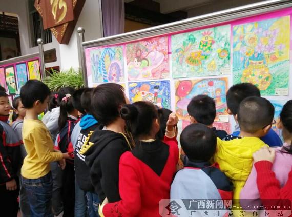 """中国梦""""绘画作品展"""
