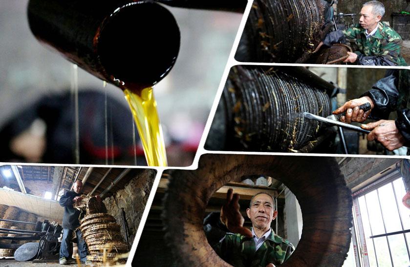 高清:即将消失的技艺——古法榨茶油