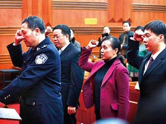 """柳州:周长青等4位副市长辞职 四部门""""换将""""(图)"""