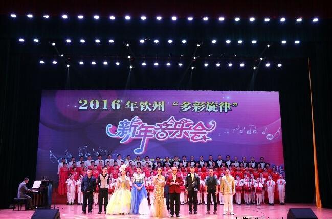 """2016钦州""""多彩旋律""""新年音乐会"""